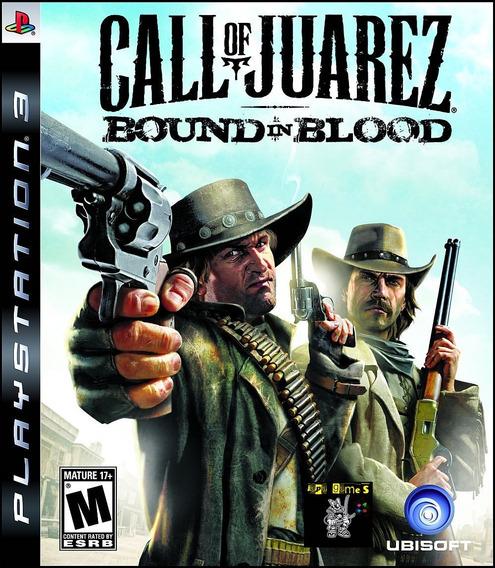 Call Of Juarez Bound In Blood Jogos Ps3 Psn Original Receba
