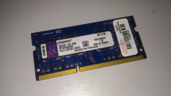 Memoria Ddr3 1333 Kingston 4gb Kvr1333d3s9/4 1.5v
