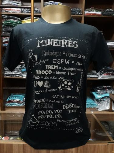 Camiseta Dicionário Mineiro... Loja Postal De Minas