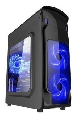 Pc Cpu Gamer Ryzen 3 2200g B350, 8gb, 1tb, Fonte Corsair