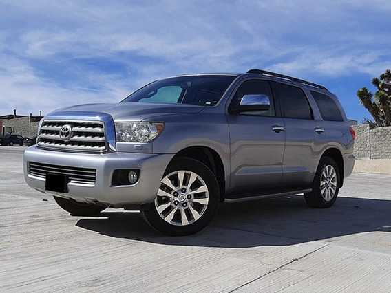 Toyota Sequoia Platinum 2016 At Plata 2016