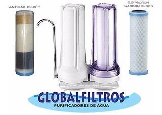 Purificador Água Removedor Flúor Metais Pesados Cloro Doble
