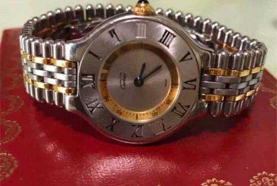 Reloj Must 21 Cartier Auténtico