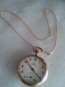 Relógio Antigo De Bolso Mondeine Decada De 60 A Corda