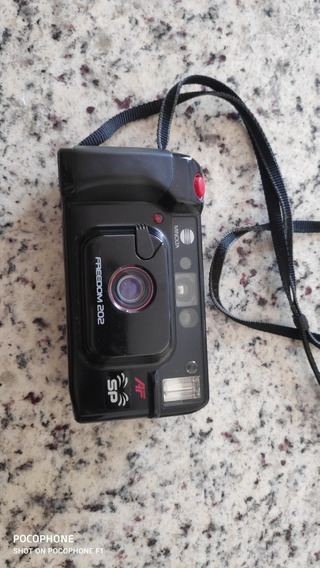 Câmera Fotográfica Minolta Freedon 202 Sp No Estado