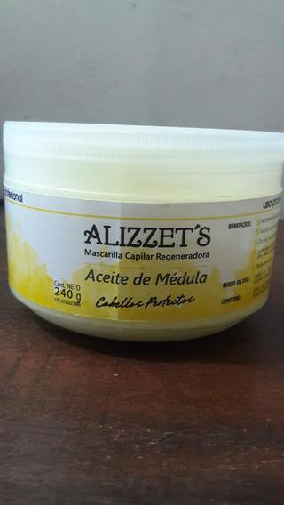 Alizzet´s Mascarilla Capilar Regenerador Aceite Médula 240gr