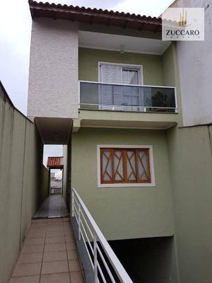 Sobrado Com 3 Dormitórios À Venda Por R$ 698.000 - Jardim Santa Mena - Guarulhos/sp - So3996