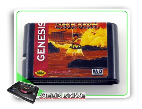 Samurai Shodown Sega Mega Drive / Genesis - Novo