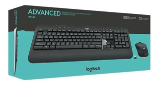 Combo Teclado Y Mouse Inalambrico Logitech Mk540 Pc Tv Smart