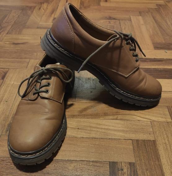 Zapatos Pull&bear - Cuero - Talle 40