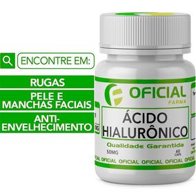 Ácido Hialurônico 50mg Frasco Oficial Com 60 Cápsulas -79