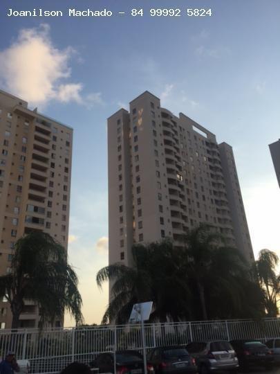 Apartamento Para Venda Em Natal, Satélite/pitimbu - Vitta Residencial, 2 Dormitórios, 1 Suíte, 2 Banheiros, 1 Vaga - Ap0334