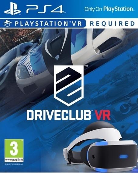 Drive Club Ps4 Vr Original1