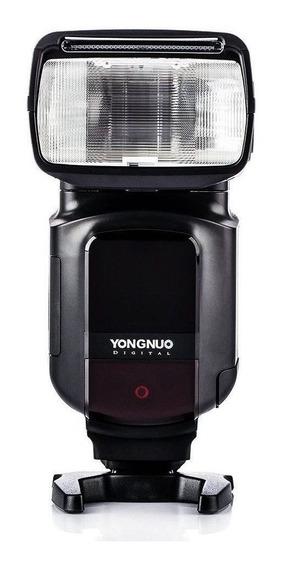 Flash Speedlite Yongnuo Com Led Embutido Para Câmeras Canon