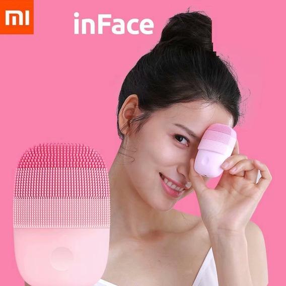 Instrumento Limpiador Xiaomi Inface Original Pequeño Rosa