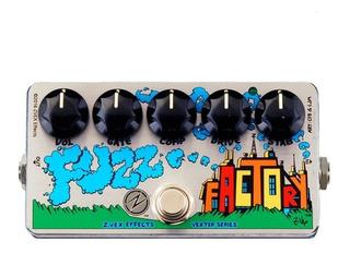 Zvex Fuzz Factory - Pedal Fuzz P/guitarra Sonido 60s - 70s