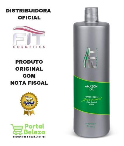Alisamento Sem Formol - Amazon Oil - Fit Cosmetics 1 Lt