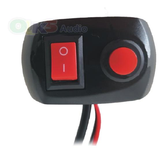 Switch Doble Para Controlar Estrobo De Luces Led Lm-sk05