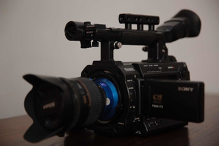 Cámara Sony Pmw-f3l Super 35mm Xdcam Ex