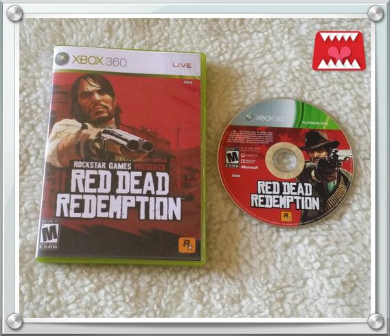 Jogo Red Dead Redemption Xbox 360 Mídia Física (leia!)