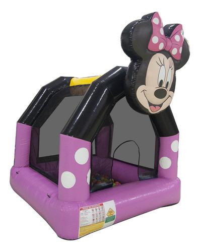 Piscina De Bolinhas Minnie Com Motor Soprador