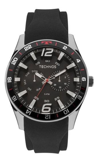 Relógio Technos Performance Racer 6p25bn/8p Masculino Preto