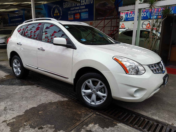 2014 Nissan Rogue Sense 2.5l Aut Blanco Perla
