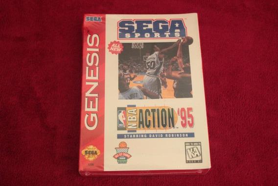 Nba Action 95 Para Mega Drive Novo Lacrado 100% Original
