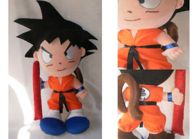 Dragon Ball Goku + Vegeta Pelúcia