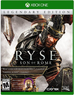 Ryse Son Of Rome Legendary Edition || Xbox One || Código