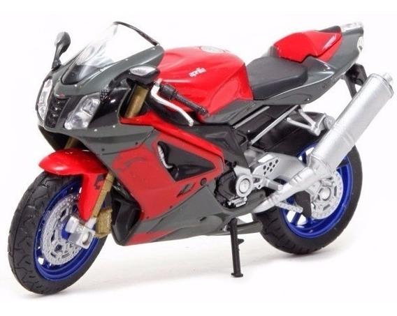 Moto Welly Colección Escala 1:18 Aprilia Rsv 1000r