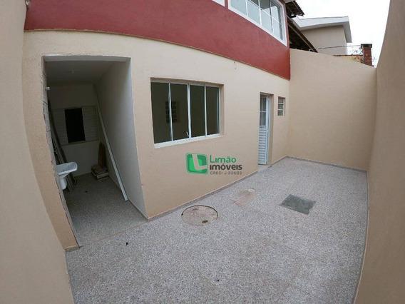 Casa Com 1 Dormitório Para Alugar, 55 M² Por R$ 1.250,00/mês - Limão - São Paulo/sp - Ca0520