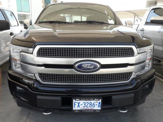 Ford Lobo Platinum 2018 Negra 4x4