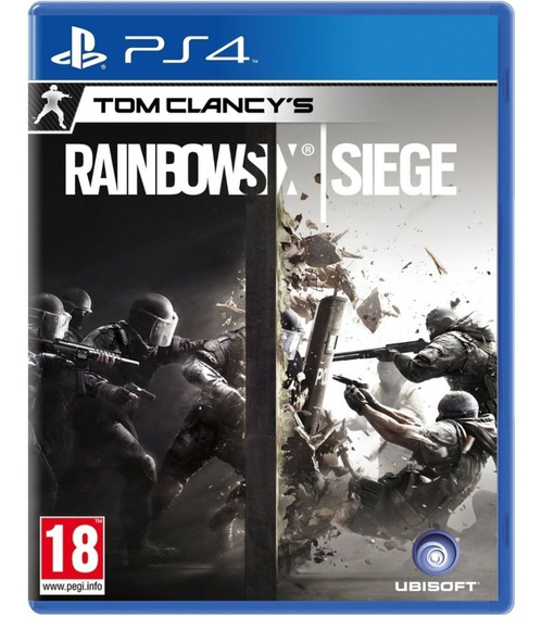 Jogo Rainbow Six Siege Ps4 Midia Fisica Original Dublado Br