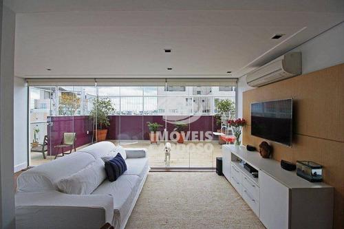 Cobertura Com 4 Dormitórios À Venda, 233 M² Por R$ 3.700.000,00 - Vila Leopoldina - São Paulo/sp - Co0774