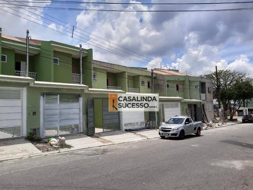 Sobrado À Venda, 92 M² Por R$ 420.000,00 - Cidade Líder - São Paulo/sp - So1163