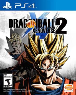 Dragon Ball Xenoverse 2 Ps4 Nuevo Fisico Sellado