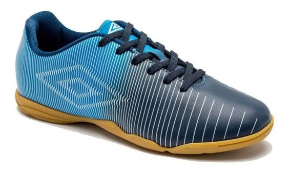 Chuteira Futsal Masculina Umbro Vibe 800746 Navy/blue
