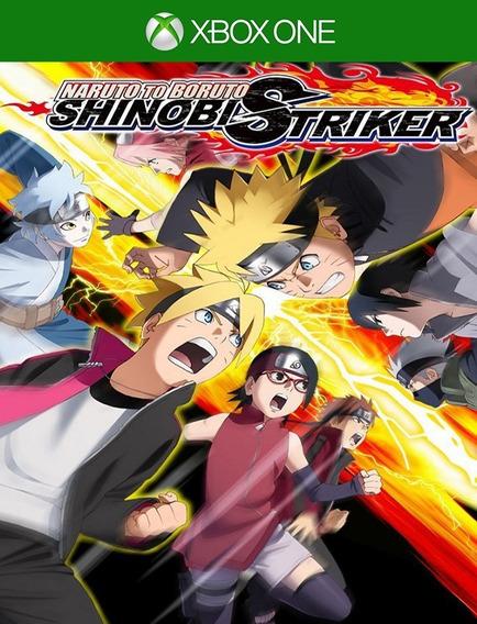 Naruto To Boruto Shinobi Striker Xbox - 25 Díg (envio Flash)