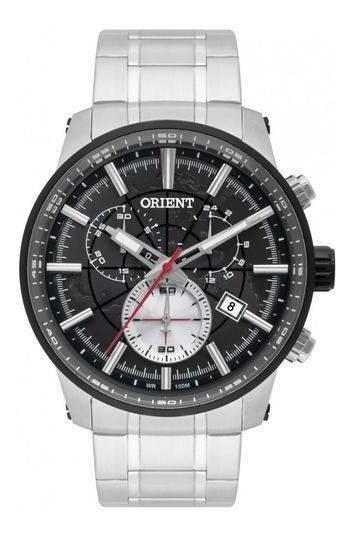 Relógio Masculino Orient Cronógrafo 100m Mbssc174-p1sx