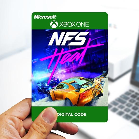Need For Speed Heat - Cartão 25 Dígitos - Xbox One