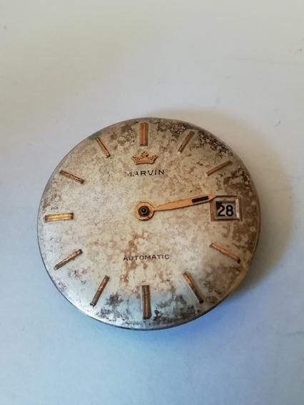 Marvin Calibre Para Reloj Reparar O Partes.