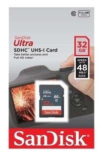 Cartão De Memória Para Cameras Fotograficas Sd 32gb Sandisk