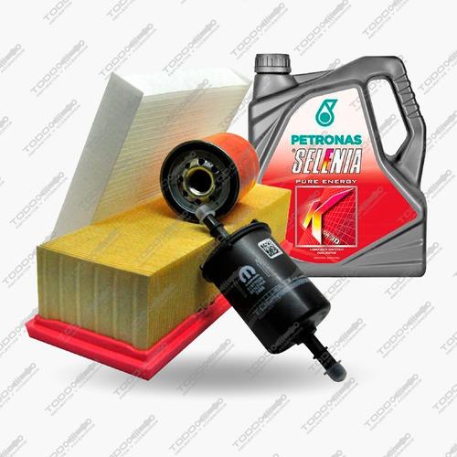 Kit Filtros + Aceite Fiat Mobi 1.0 Original