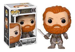 Funko Pop Tormund Giantsbane #53 Game Of Thrones Regalosleon