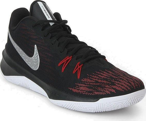 Tênis Nike Zoom Evidence Preto Masculino Basquete Original