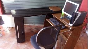 Mesa E Cadeira De Escritório, Mais Computador Completo