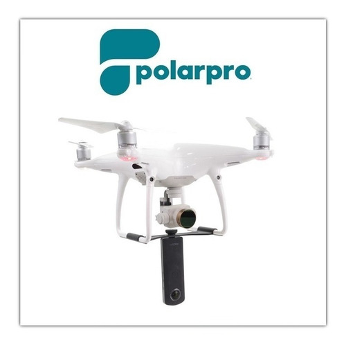 Dji Phantom 4 Pro Montura Camara 360 Polarpro - Inteldeals