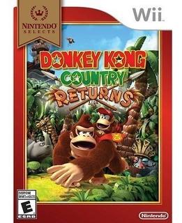 Donkey Kong Country Returns Wii Nintendo Wii U
