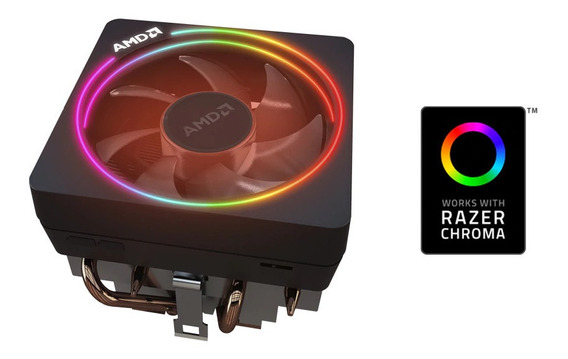 Cooler Wraith Prism - Fan Amd Ryzen 7 Rgb Am4